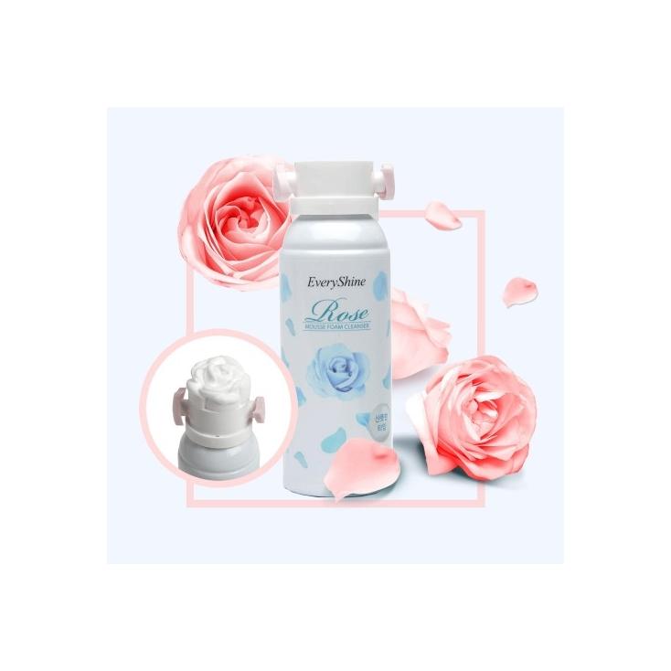 EVERY SHINE Rose Mousse Foam Cleanser-Pianka do mycia twarzy cera tłusta  i mieszana 150ml