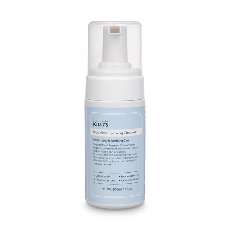 KLAIRS Rich Moist Foaming Cleanser (pianka do mycia twarzy) 100ml