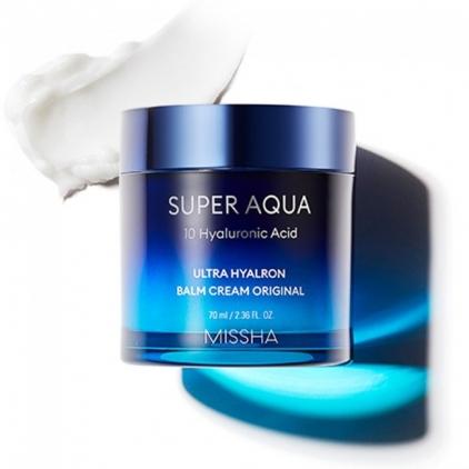 Missha Super Aqua Ultra Hyaluron Cream Balm – Nawilżający balsam 70ml