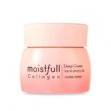 ETUDE HOUSE - Moistfull Collagen Deep Cream ( krem odżywczo-nawilżający z kolagenem bogata konsystencja) – 75ml