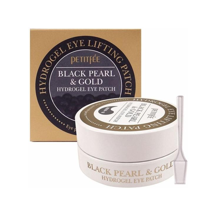 PETITFEE Black Pearl&Gold Hydrogel Eye Patch Płatki hydrożelowe nawilżajace pod oczy 60szt