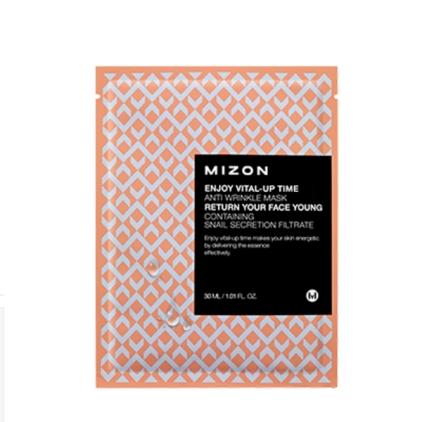 MIZON Enjoy Vital-Up Time Anti Wrinkle Mask (maska w płacie przeciwzmarszczkowa) 30ml