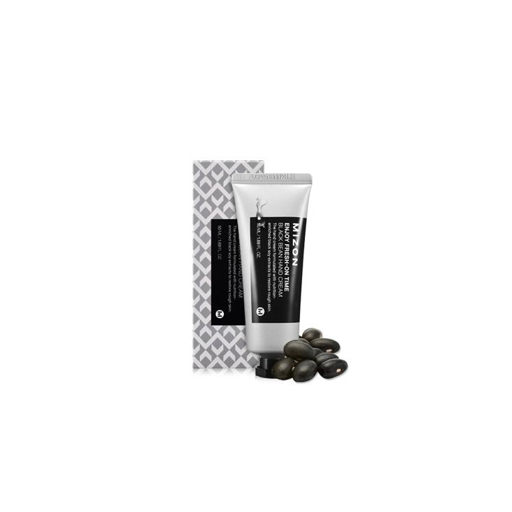 MIZON Enjoy Fresh-On Time Black Bean Hand Cream ( krem do rąk głęboko odżywia i nawilża fasolkowy) 50ml