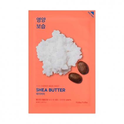 HOLIKA HOLIKA Pure Essence Mask Sheet SHEA BUTTER (maseczka odżywczo-nawilżająca ekstraktem z masła Shea w płacie) 20ml