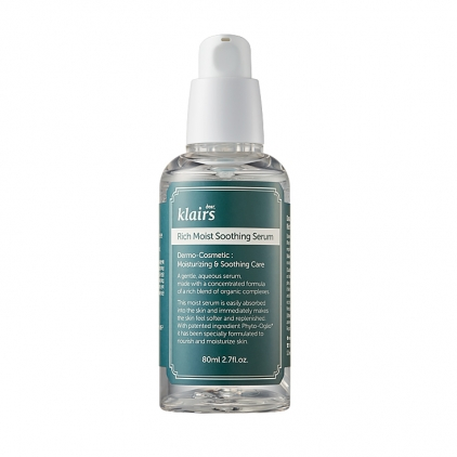 KLAIRS Rich Moist Soothing Serum (wielofunkcyjne serum do twarzy) 80ml