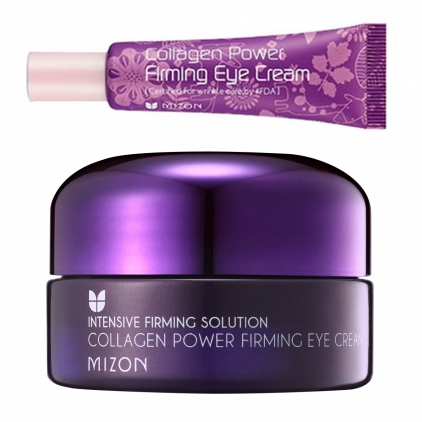 MIZON Collagen Power Firming Eye Cream (krem pod oczy ujędrniający z kolagenem morskim)  tubka 10ml