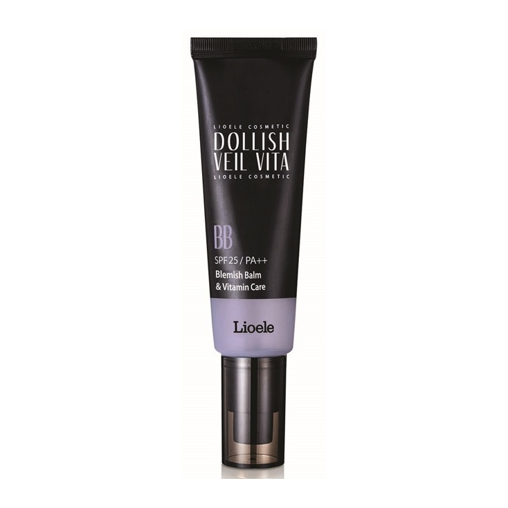 LIOELE  Dollish Veil Vita BB SPF25/PA++ ( krem BB witaminowy ) kolor Gorgeous Purple  50ml